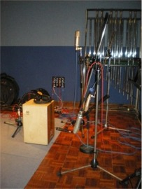 [Example of How Cajon May Be Mic'd-Up In Recording Studio - Stuart Wood]